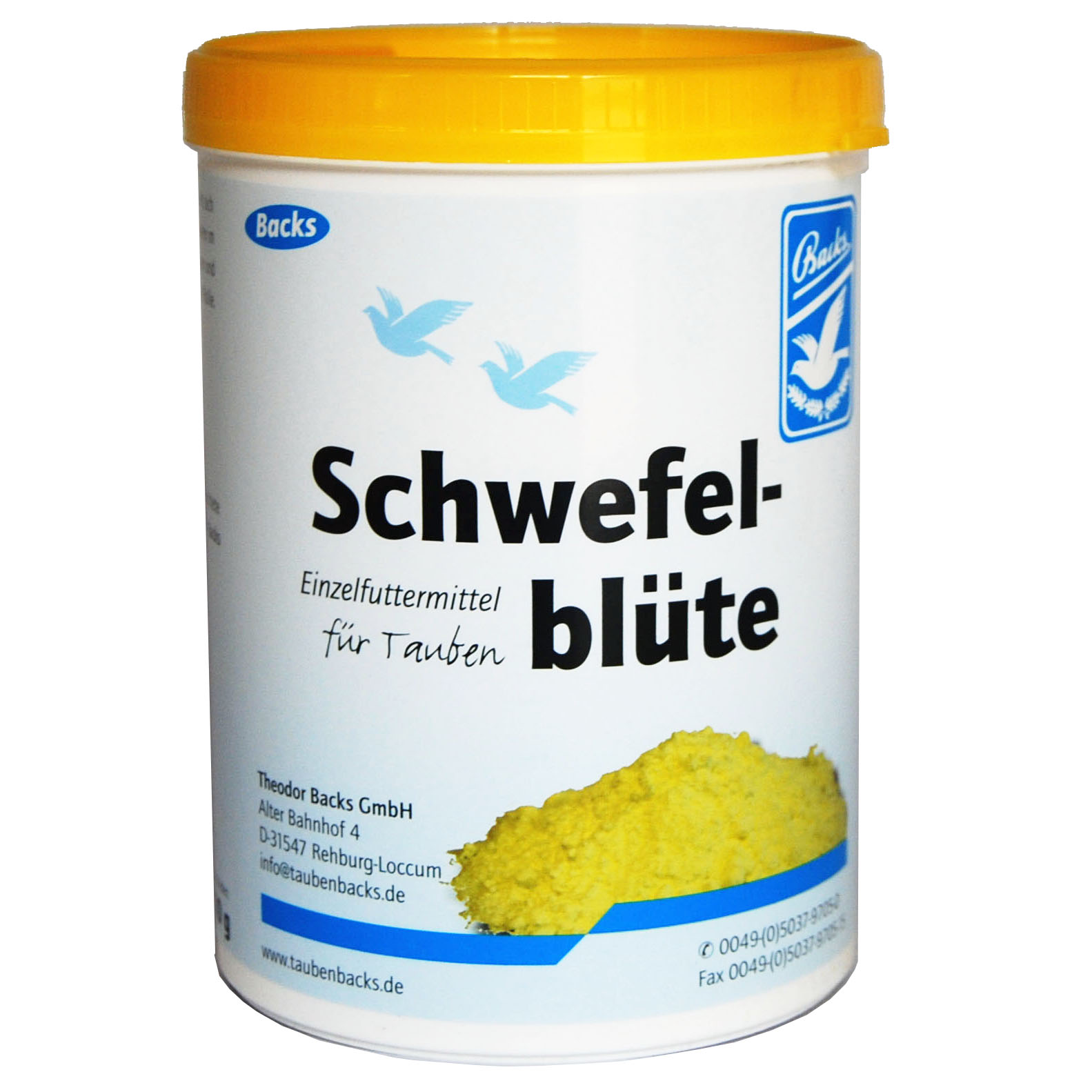Schewefel Blute Backs
